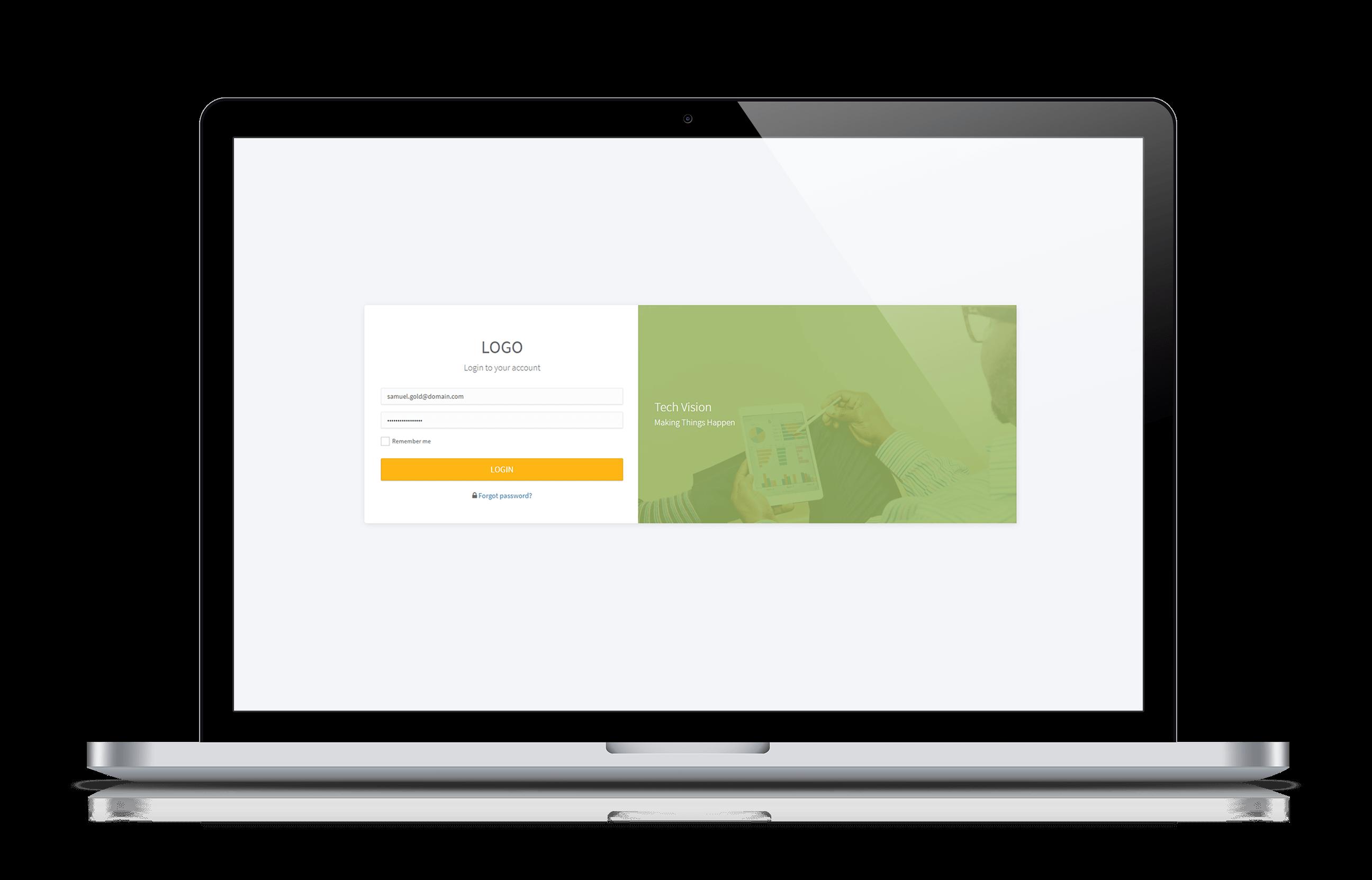 SalesForce Customer Portal Login Page