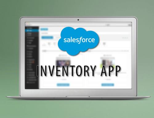 SalesForce Inventory App
