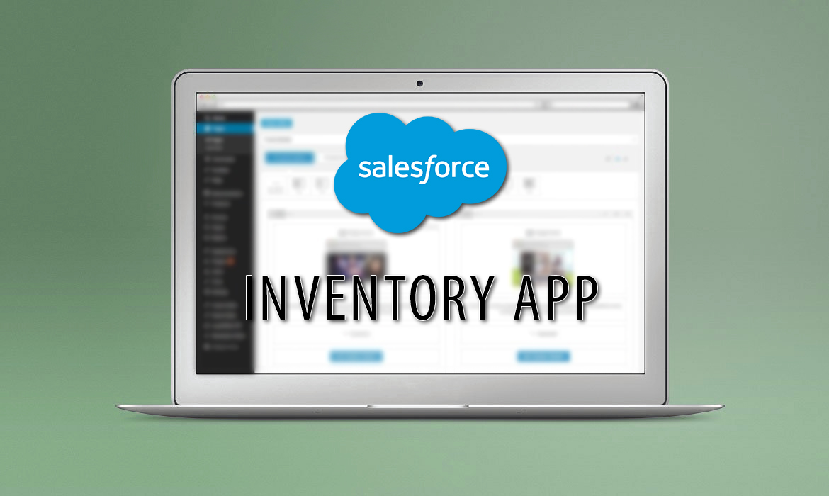 SalesForce Inventoy App