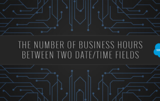 The Number of Business Hours Between Two Date Time Fields Salesforce