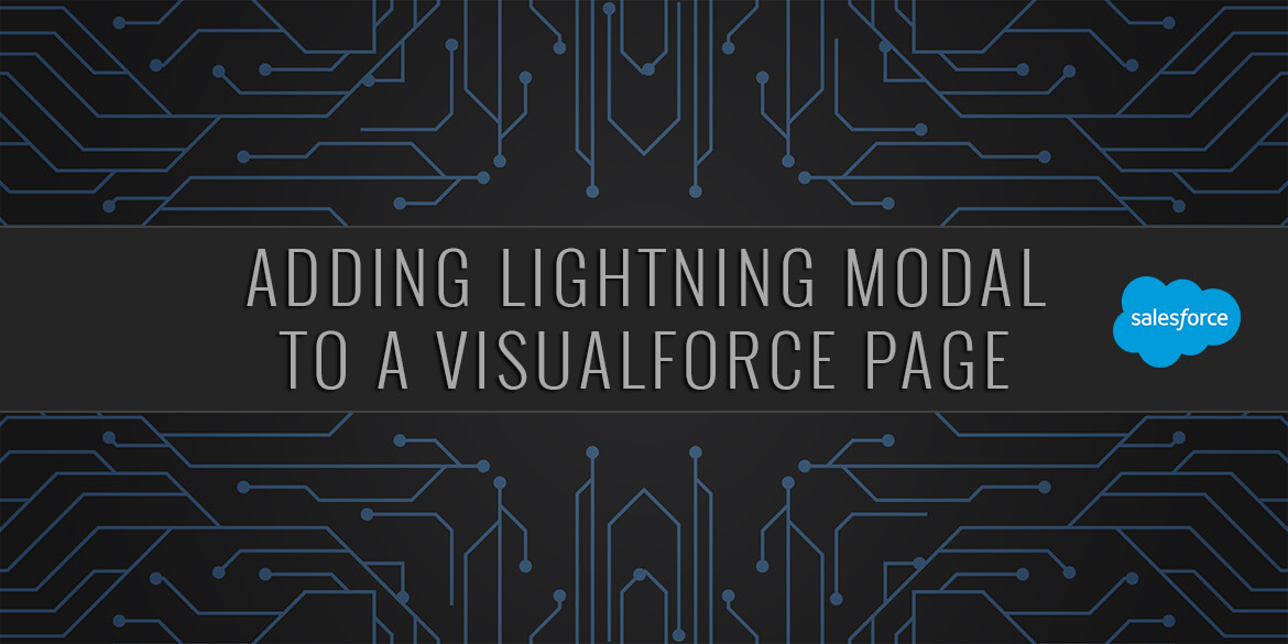 Salesforce Adding Lightning Modal to a VisualForce Page