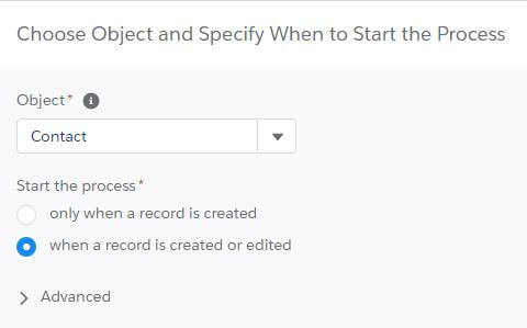 New Process Builder Created Edited Salesforce