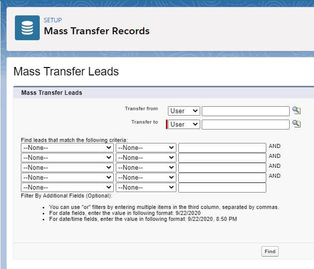 Salesforce | Mass Transfer Records with Developers Console